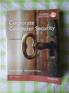 Corporate Computer Security (4th ed)