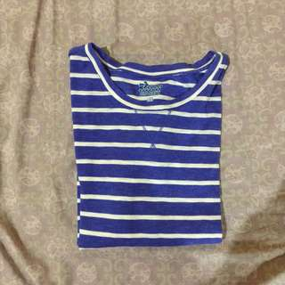 OLD NAVY Striped Half Sleeved Top