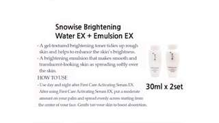 Sulwhasoo Snowise Brightening Water & Lotion 30ml
