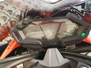 Kawasaki z800 12k mileage year 2014