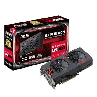 ASUS Expedition Radeon RX 570 OC edition 4GB GDDR5