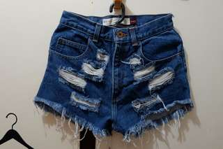 Denim shorts (size 26 waistine)