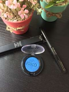 BLUE EYE SHADOW KIKO MILANO ITALY
