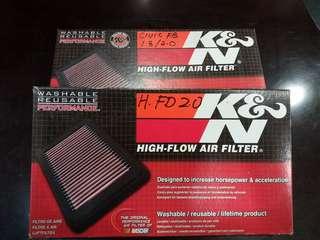 K&N Filter Civic FD