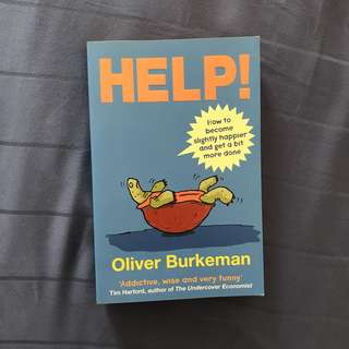 HELP!! by Oliver Burkeman