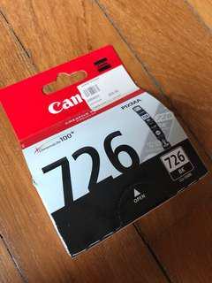 Canon printer cartridge 726 pixma chromalife100+