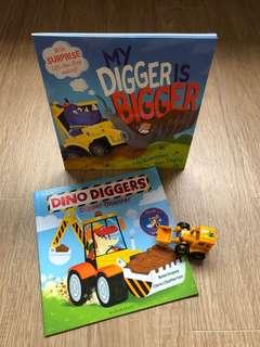 Digger Book Set
