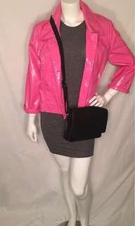 Pink Vintage Vinyl Jacket