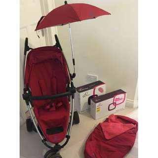 Quinny Zapp Xtra 2 in red