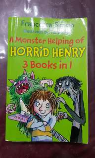 Horrid Henry - a Monster Helping of Horrid Henry 3 books in 1