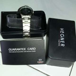 Hegner timepiece watch /jam tangan hegner ori