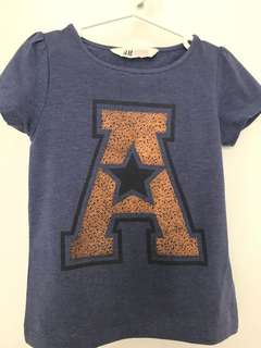 H&M T-shirt (4-6yrs)