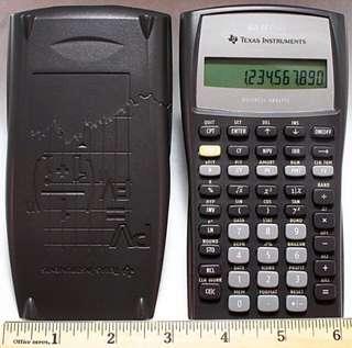 Texas BA II Plus BA ll Financial Calculator
