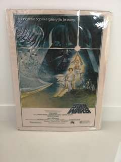 Star Wars Movie print