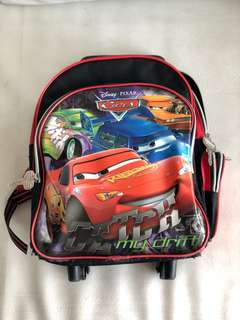 Lightning McQueen Backpack/Stroller Bag