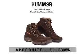 Sepatu Boots Pria Hummer Aprodhite