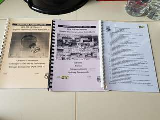 SRJC H2 Organic Chemistry Notes