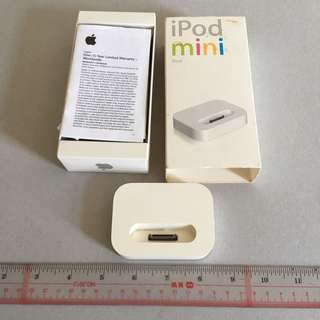 iPod Mini Stand 有直出Audio Out 原裝 Apple