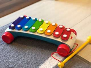 Fisher price brilliant basics classic xylophone LIKE NEW music instrument tactile learning