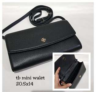 TB Mini Wallet Crossbody