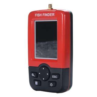 LCD Display Smart Fish Finder with 100m Wireless Sonar Sensor Fishfinder
