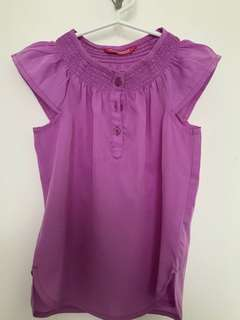 Girls Pink Top (5-6yrs)
