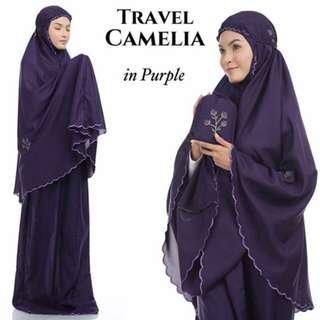 🚚 Telekung Tavel Camelia (Purple)