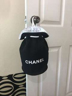Chanel bucket backpack