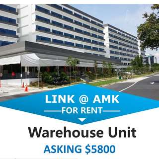 Link @ AMK, 2 Warehouse Units for Rent, 5,800 each