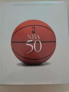 NBA at 50 hardback collectors book