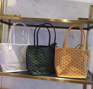 Goyard st louis junior small tote