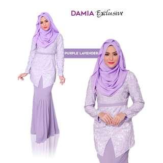Damia Modern Kebaya Lavendar Purple