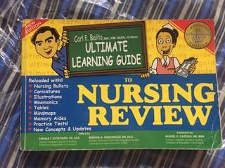 Carl Balita Ultimate Learning Guide to Nursing Review