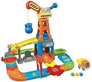 🚚 (Pre-Order)  VTech Go! Go! Smart Wheels Construction Playset,Multicolor
