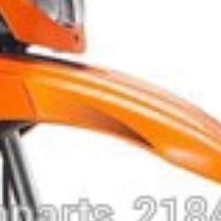 Bike Scr Fender Orange