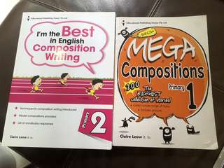 P1/P2 English Composition Books