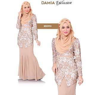 Damia Modern Kebaya Brown
