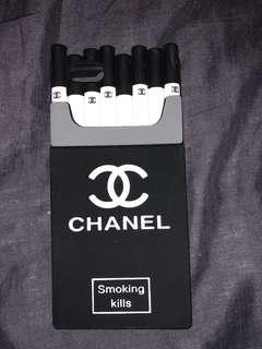Chanel Cigarette iPhone 6 Rubber Phone Case