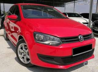 Polo red TSi 1.2 lady driver only