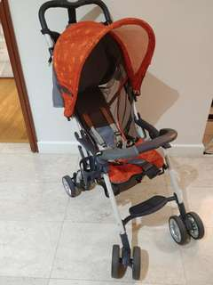 Combi Stroller for sit or sleep