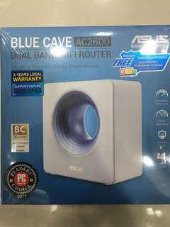 Asus Blue Cave AC2600 Dual Band Wi-Fi Router for Smart Home