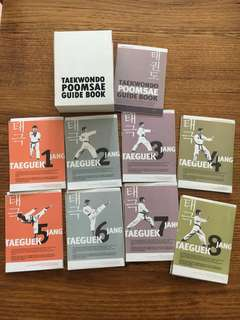Complete box set Taekwondo Poomsae Guide Book