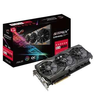 ASUS ROG Strix Radeon RX 580 OC edition 8GB GDDR5