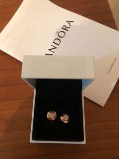 Pandora Earrings 玫瑰金
