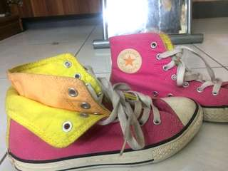Converse Original Snickers (pink,yellow,orange)