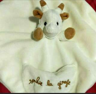 Comforter - Sophie Giraffe with Pacifier Holder