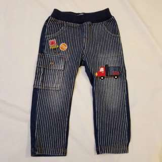 🈹Lorry jeans size 90 牛仔褲 (fit to 2.5 to 3.5 years old boy)