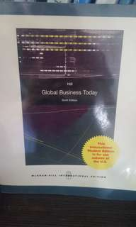 Global Business Today (sixth edition)