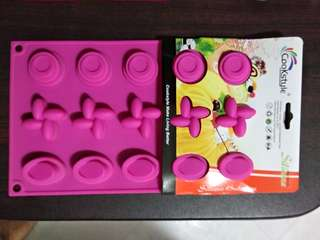 Bakeware silicone mould