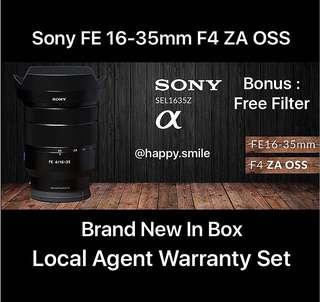Sony FE 16-35mm F4 ZA OSS